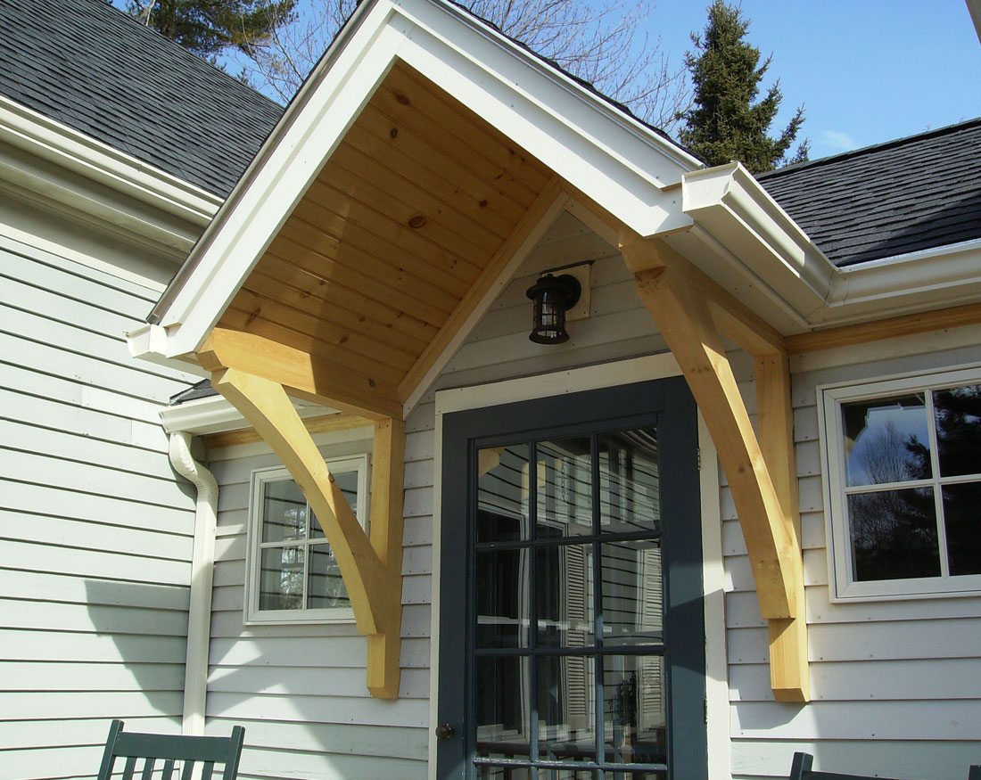 This entry detail was added during a fairly substantial renovation