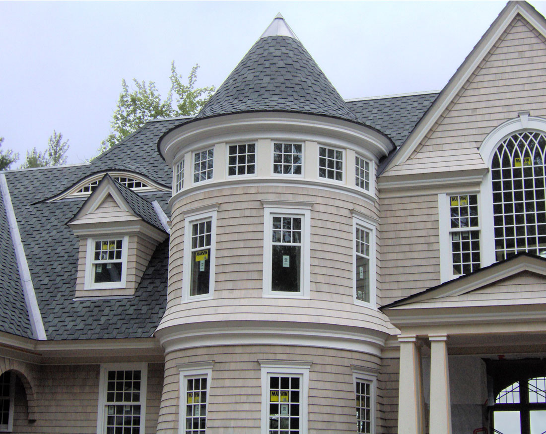 Intricate Victorian touches on this large new home