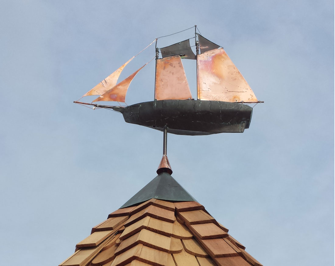 Weathervane detail
